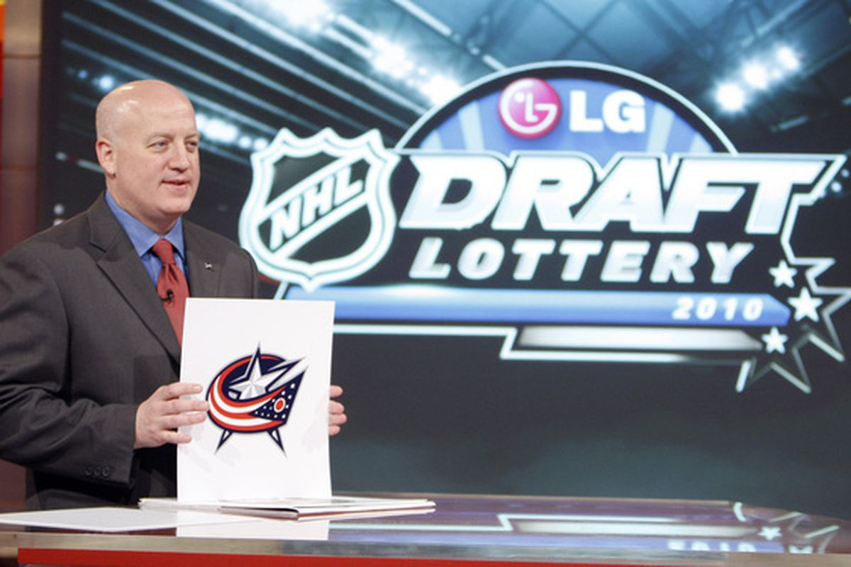 Losing the draft lottery; nothing new for the Jackets.
