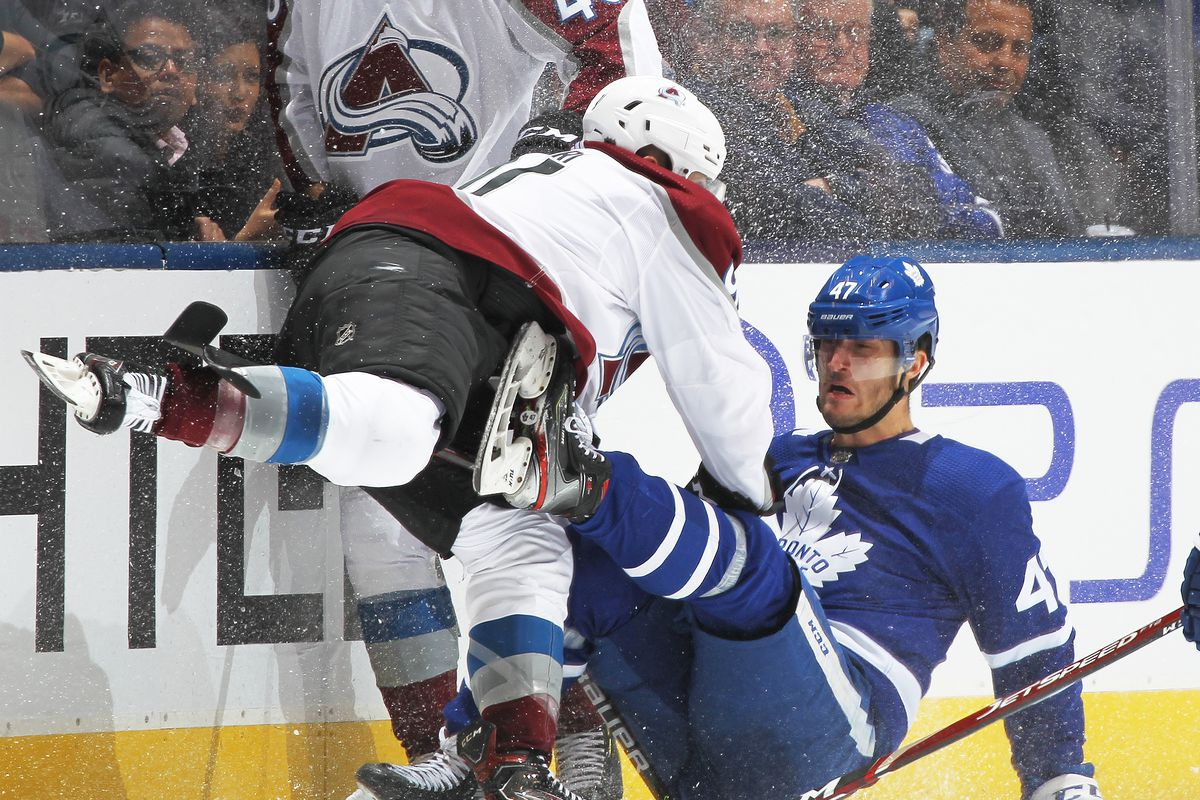 Colorado Avalanche v Toronto Maple Leafs