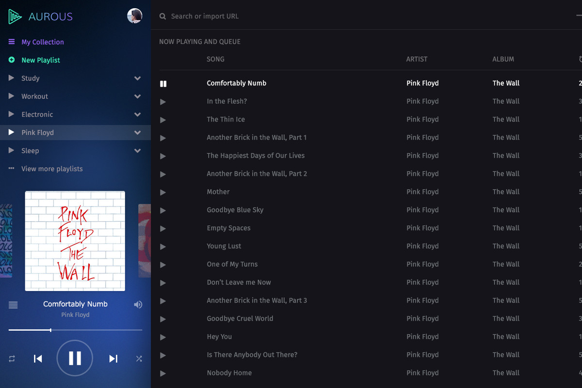 Aurous is a free and questionably legal way to stream music