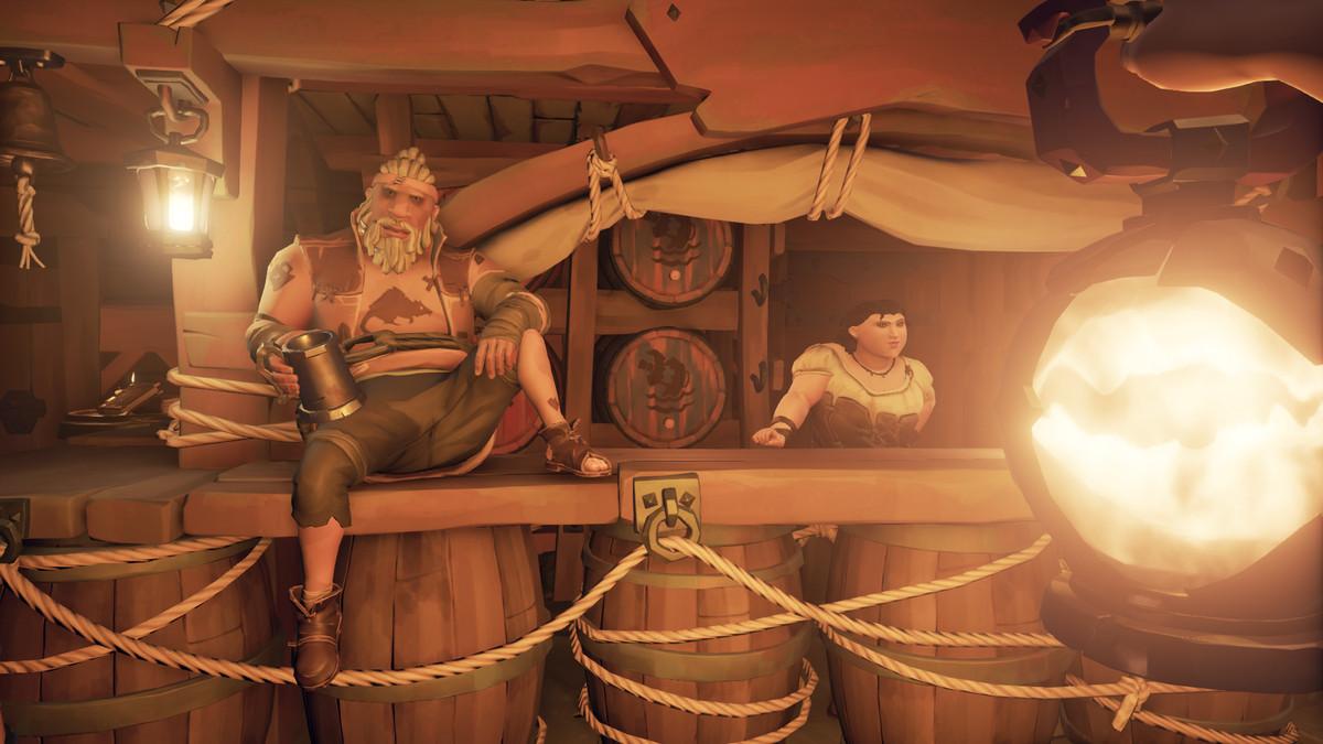 Sea of Thieves - Duke, the Bilge Rat's vendor