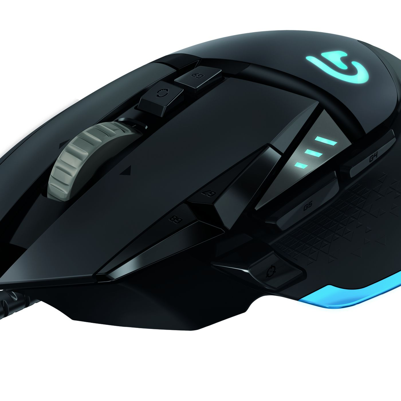 2638c408c03 Logitech's G502 Proteus Core tunable gaming mouse with 12,000 DPI sensor  hits in April