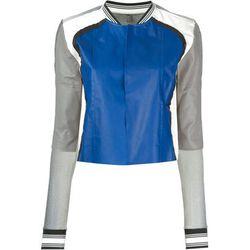 "<b>Aviù</b>, <a href=""http://www.farfetch.com/shopping/women/aviu-bomber-jacket-item-10809960.aspx?storeid=9442&ffref=lp_8_"">$465</a>"