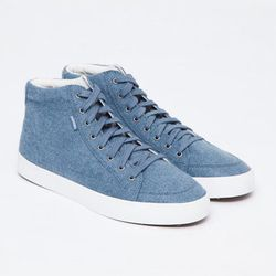 """<strong>Pointer</strong> Atlantic Soma Mid Sneaker, <a href=""""https://shopacrimony.com/products/pointer-atlantic-soma-mid-sneaker"""">$32</a> (was $65) at Acrimony"""