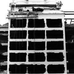 Demolition of the north face of the Hotel Utah in this photo take June 5, 1991.