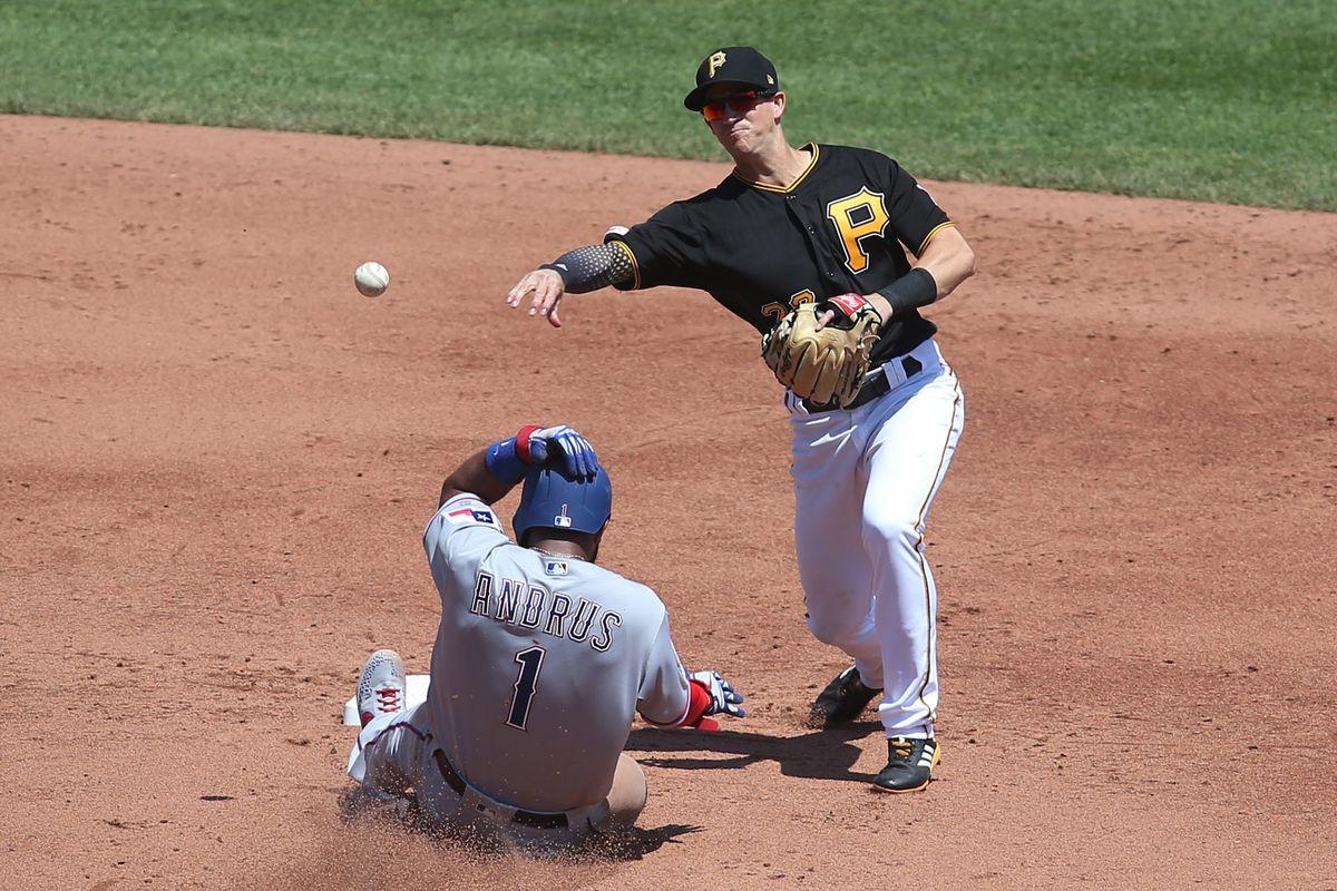 MLB: Texas Rangers at Pittsburgh Pirates