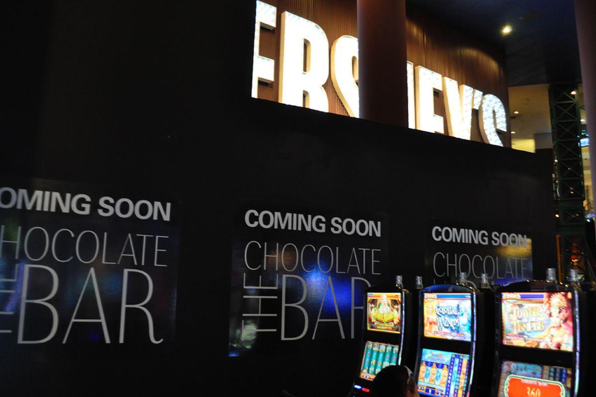 The Chocolate Bar at Hershey's Chocolate World
