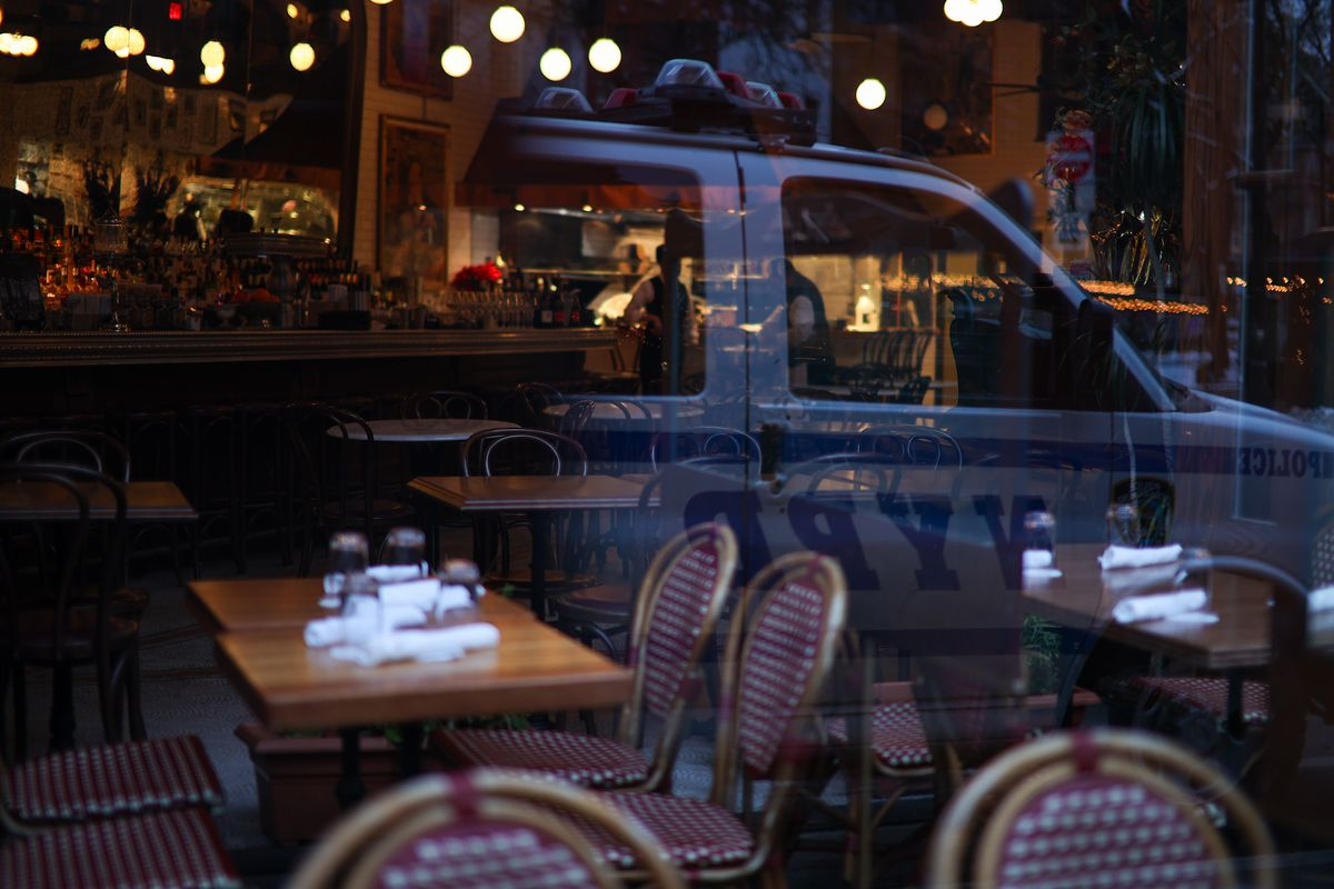 New York City restaurants are reopening indoor dining with %25 capacity as of February 12th on Friday amid coronavirus (COVID-19) measurements in New York, United States on February 11, 2021.