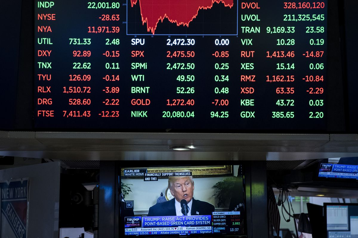 Dow Jones Industrial Averages Closes Over 22,000