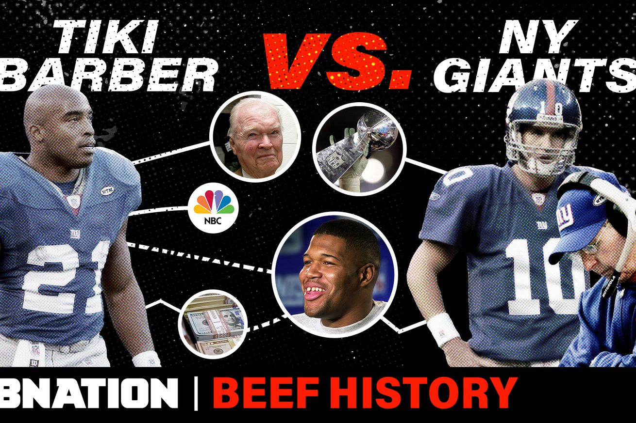 SBN BFH 037 TIKIvsGIANTS v4.0 - Beef History: Tiki Barber vs. the Giants