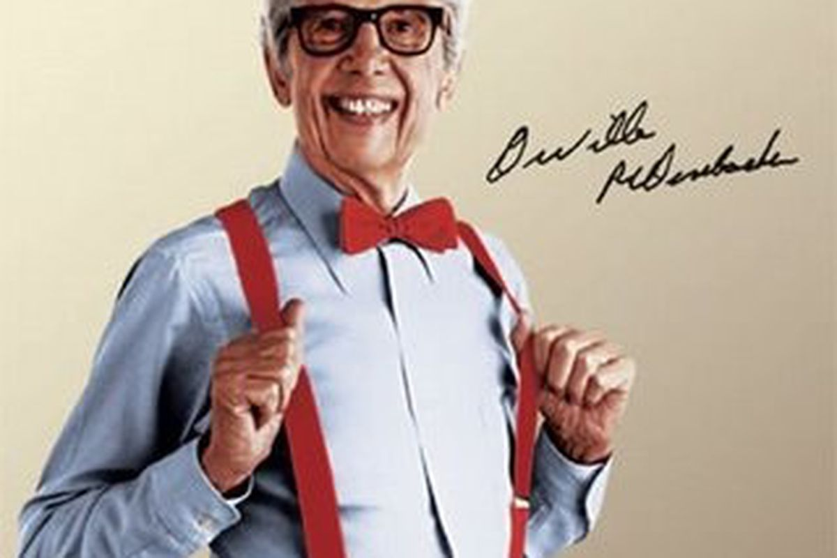 A red bow tie and suspenders will get any man laid.