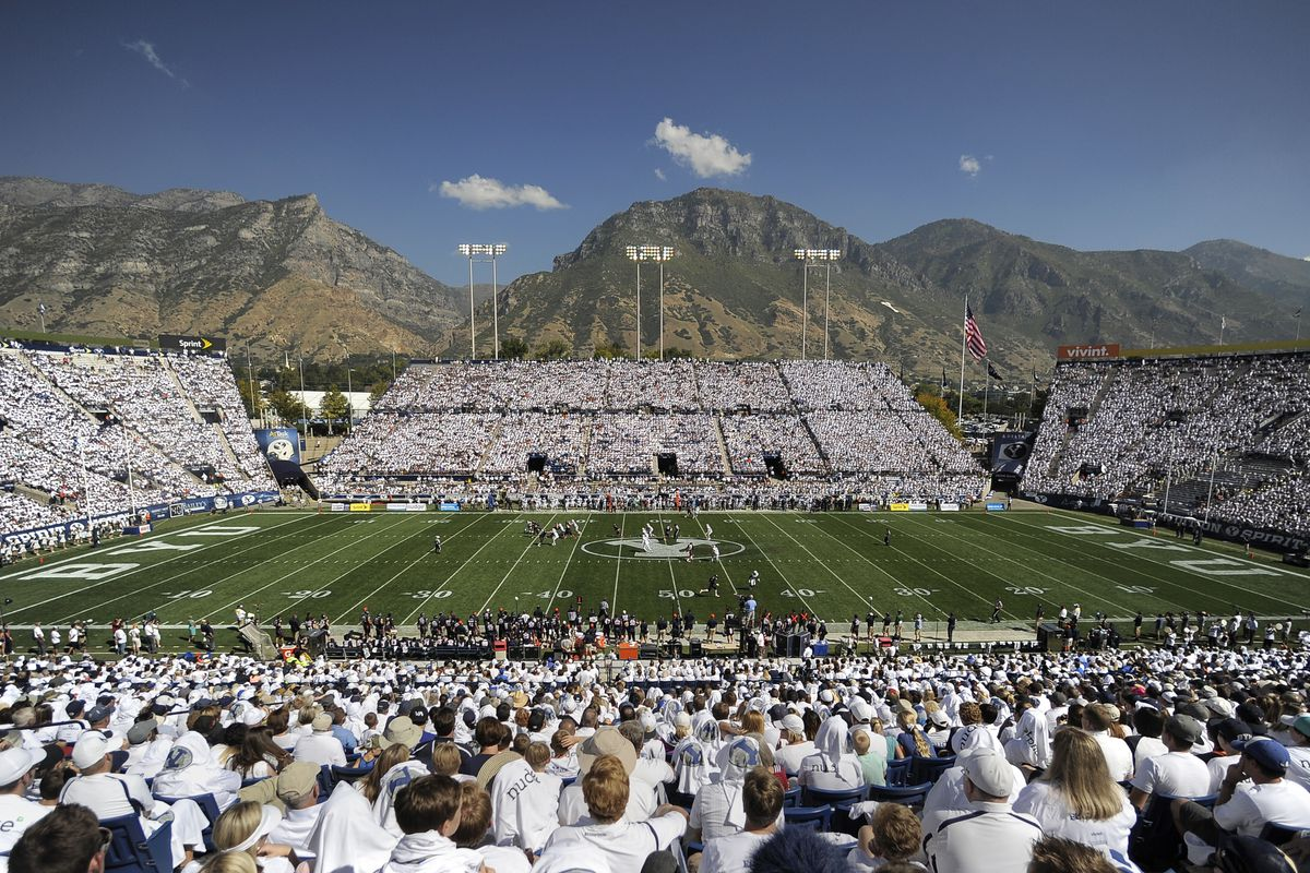 BYU fans fill the LES against Virginia