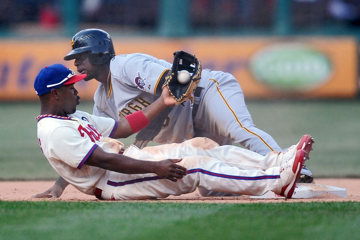 Lying down on the field might warrant a little criticism, but failing to run out routine grounders doesn't. (Photo by Drew Hallowell/Getty Images)