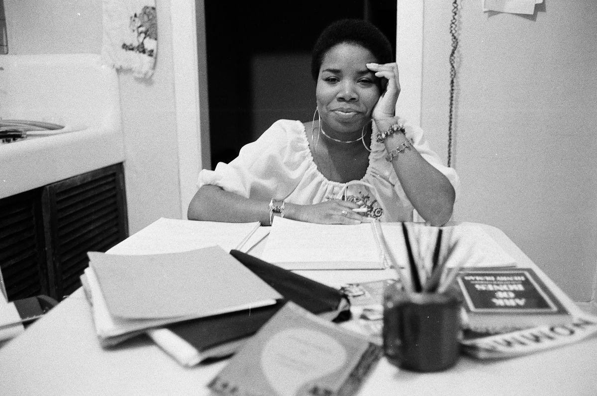Angela Jackson in 1975.