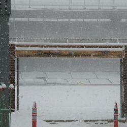 Gate Q area in right field -