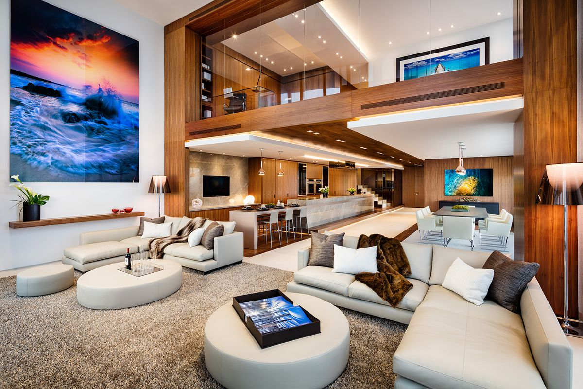 A duplex residence at Marquis in downtown Miami