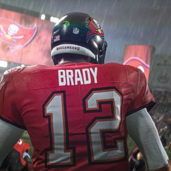 An in-engine screenshot of <em>Madden NFL 21</em> on the PlayStation 5 and Xbox Series X.