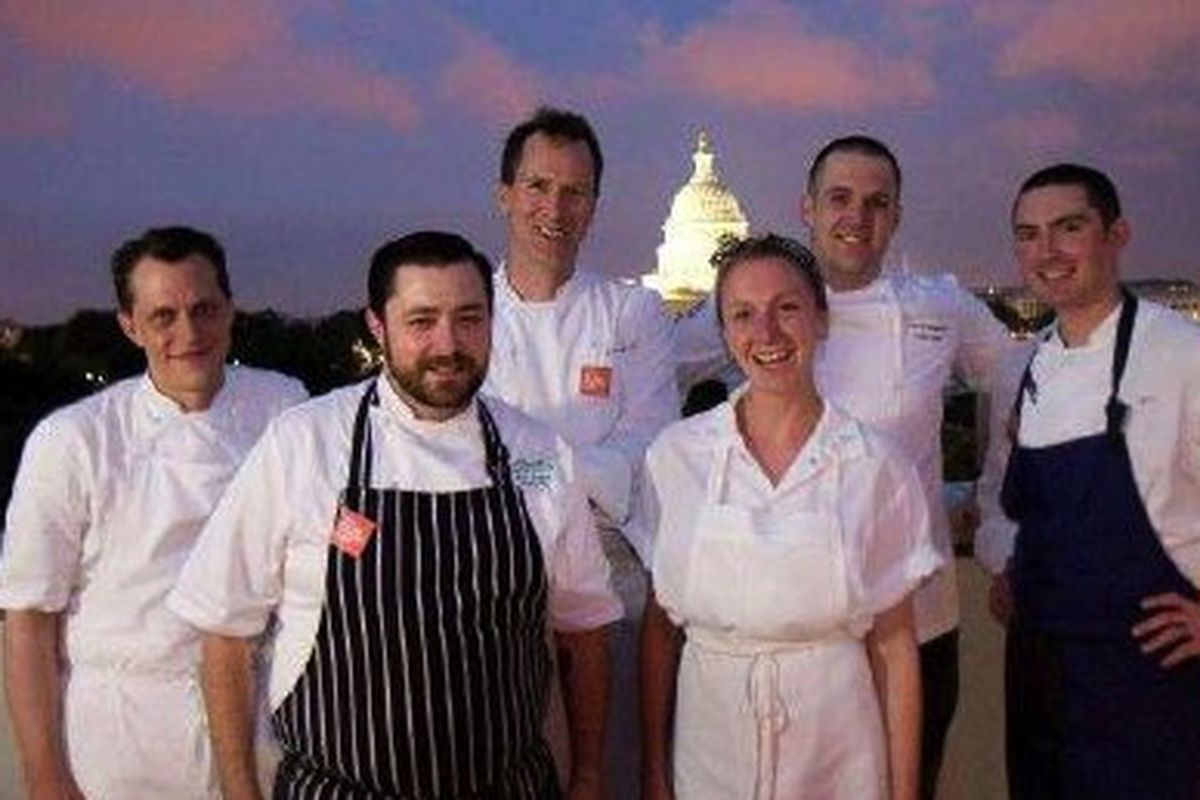 The six founding chefs of Killed by Dessert.