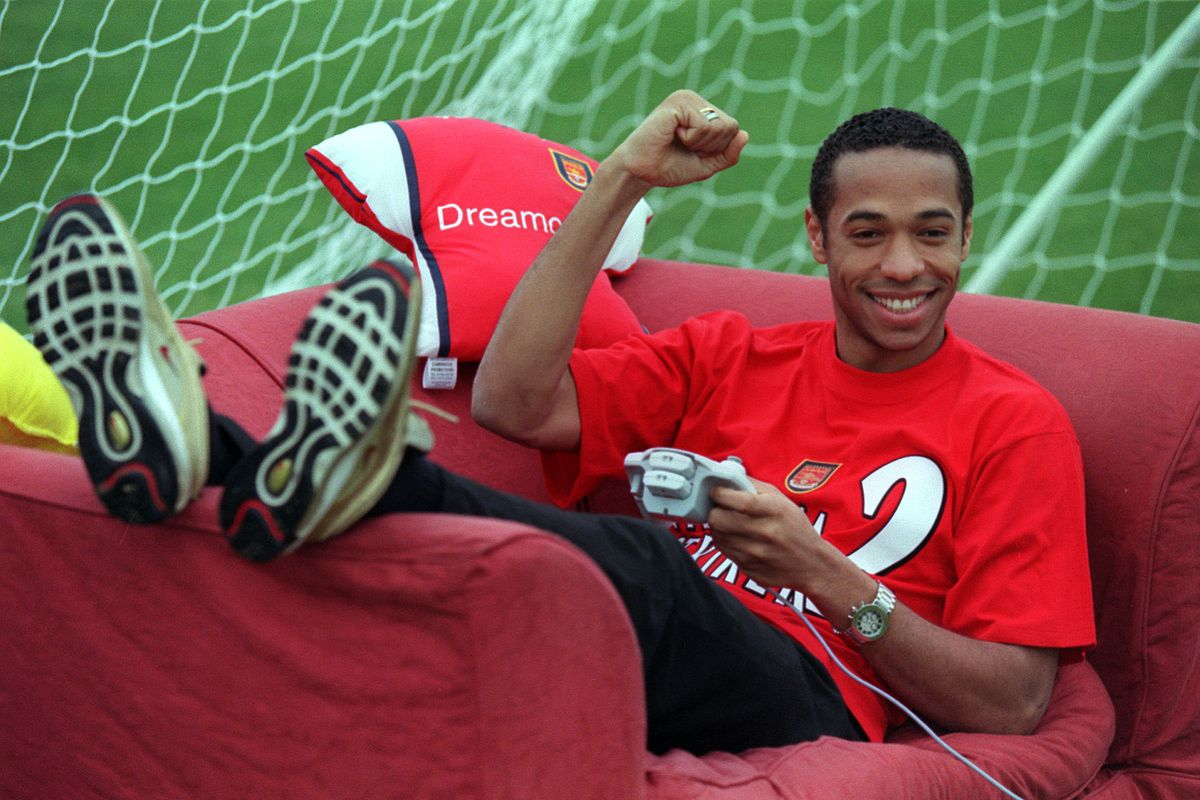 Thierry Henry Dreamcast