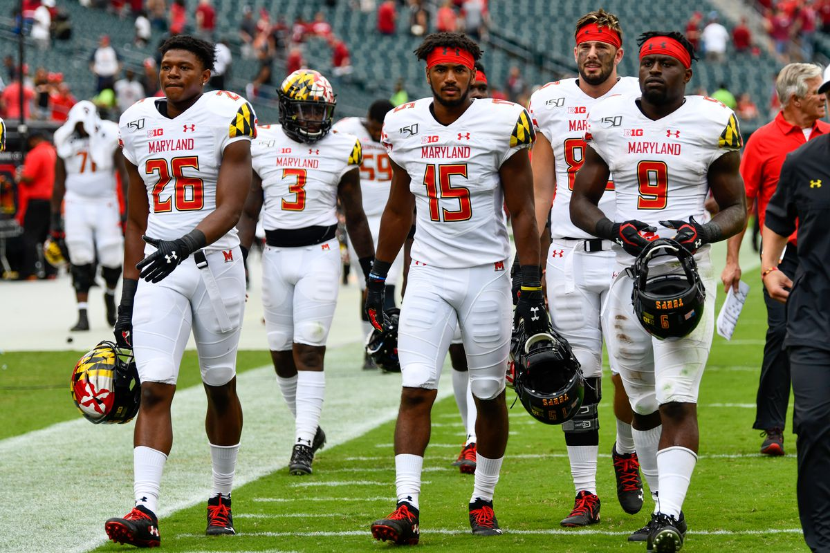 Maryland football at Temple, team pic