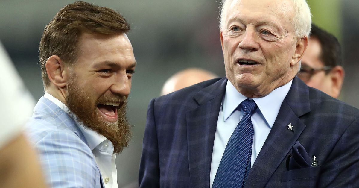 Conor McGregor says ?now is the time? to bring UFC octagon to AT&T Stadium