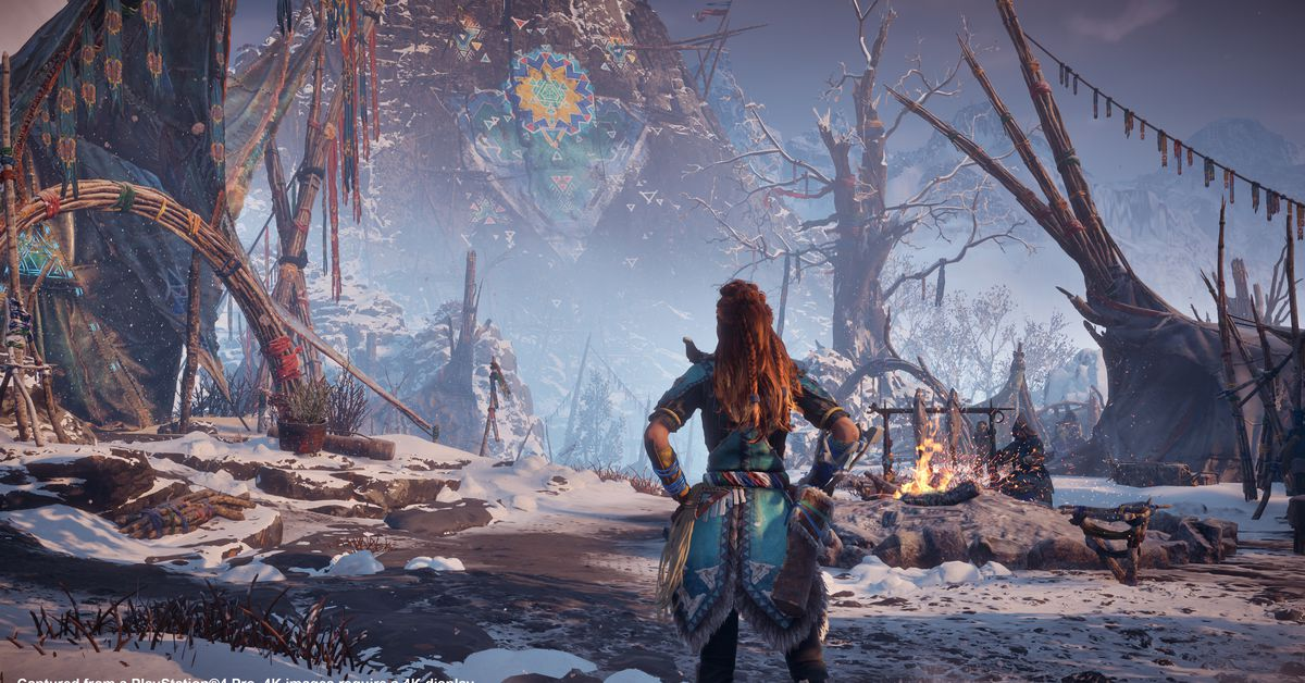 The Frozen Wilds is a perfect excuse to jump back into Horizon Zero Dawn