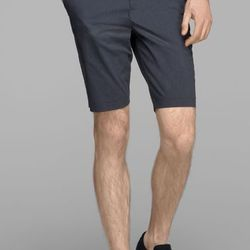 """<strong>Theory</strong> Beckit Short in Eclipse Stripe, <a href=""""http://www.theory.com/Beckit-Stillbaai-Stretch-Cotton-Short/D0574219,default,pd.html?dwvar_D0574219_color=B83&start=24&cgid=mens-pants-shorts"""">$155</a>"""