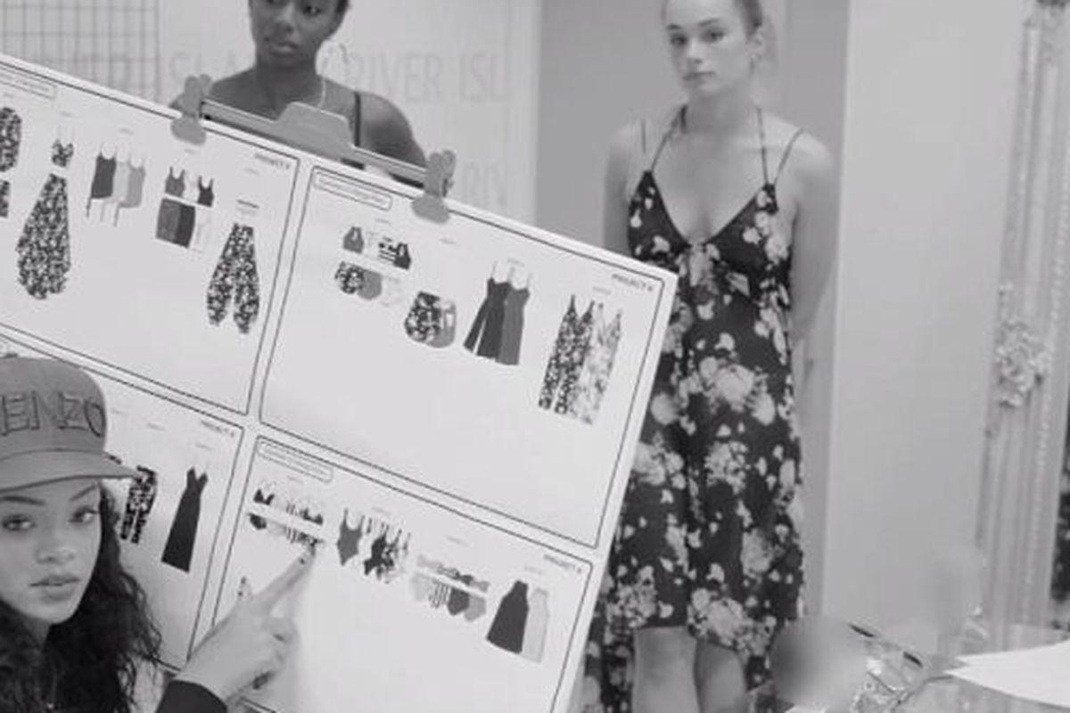 Rihanna 'splains the collection
