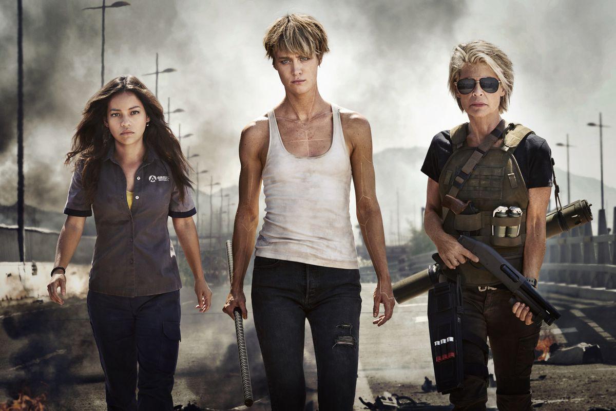 Terminator 6 - Dani Ramos, Grace, Sarah Connor