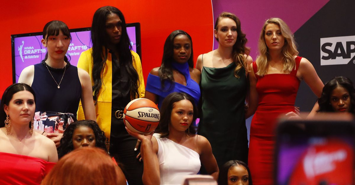 76edc40f7941 Photo Gallery  2019 WNBA Draft. 04 10 2019 11 08 pm - UConn women s  basketball ...