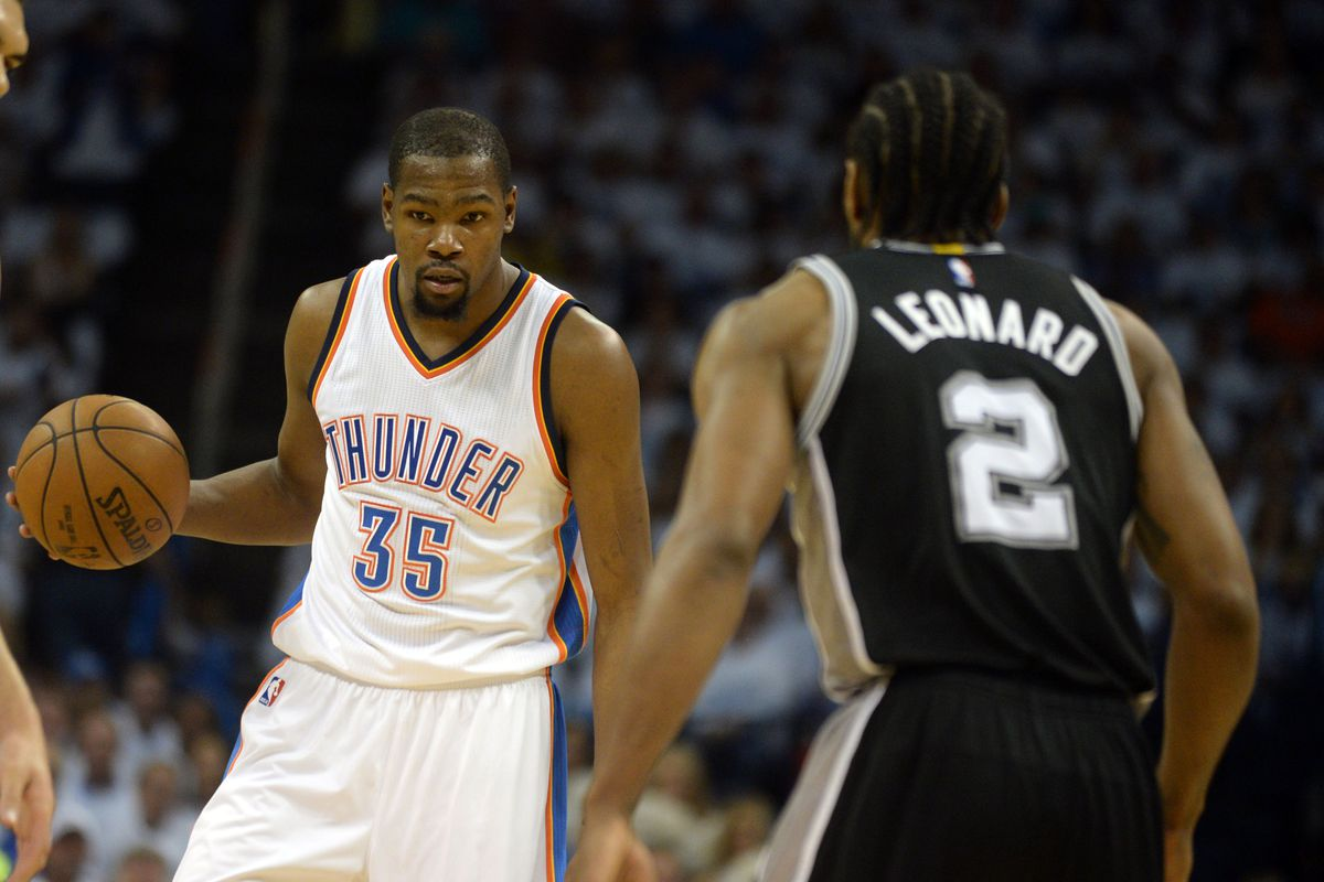 thunder vs. spurs, 2016 nba playoffs: time, tv schedule and live