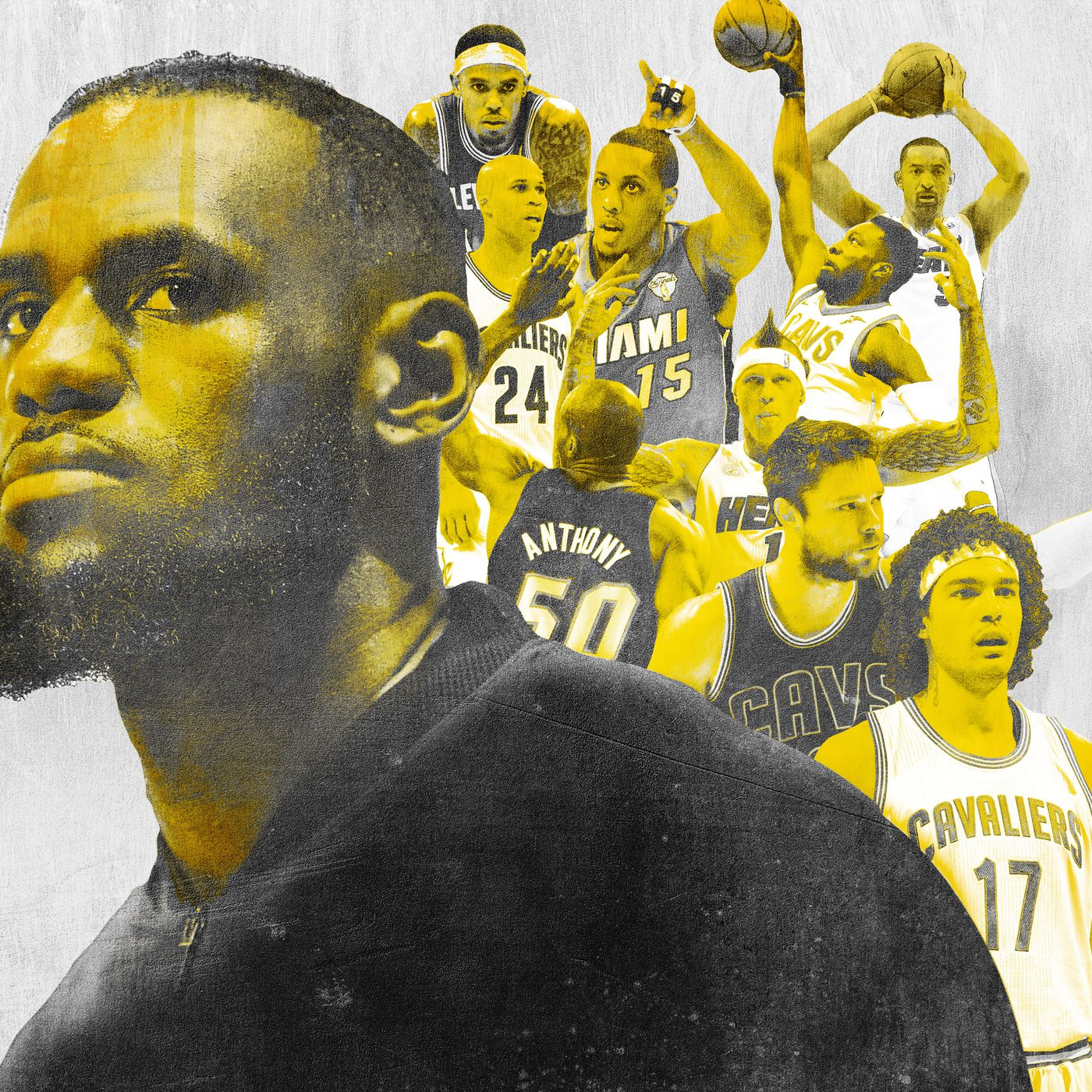 75824a21c333 Ranking Every Teammate LeBron James Has Ever Carried to the NBA Finals -  The Ringer