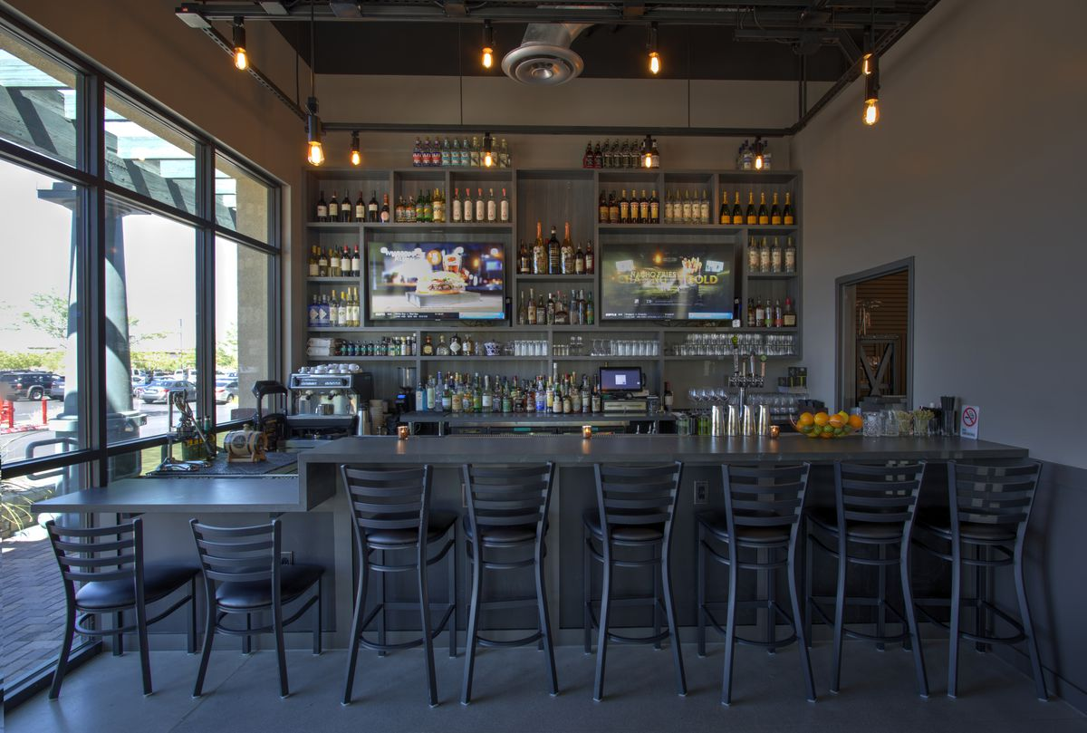 The bar at Locale Italian Kitchen