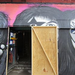 """Renovations at the former Nice Guy Eddie's via <a href=""""http://evgrieve.com/2012/08/rumors-about-new-name-for-former-nice.html"""">EV Grieve</a>."""