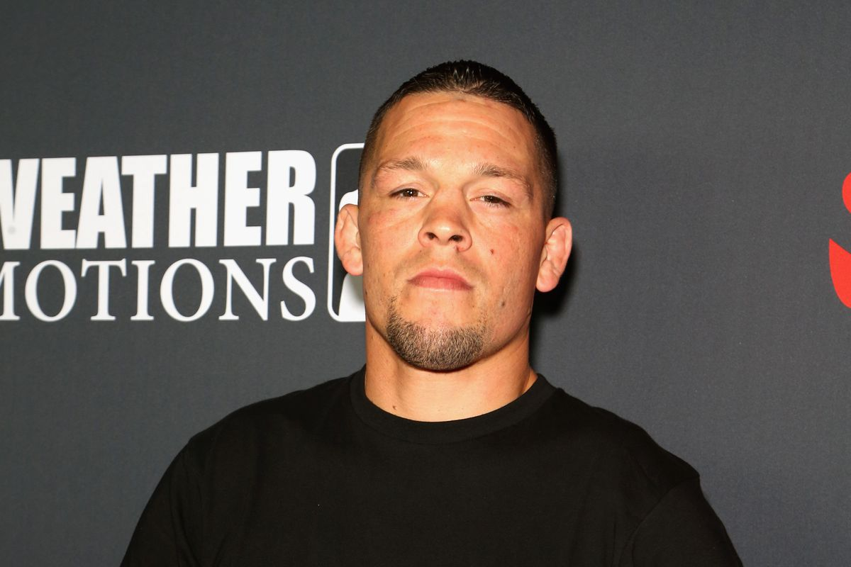 nate diaz says he won t fight on that show after mcgregor s