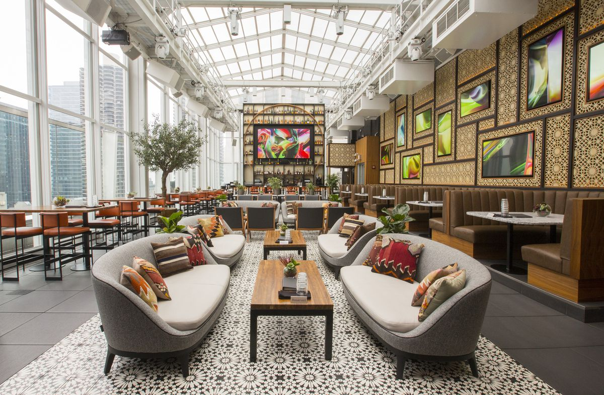 Inside the Wit Hotel's Revamped Downtown Rooftop Bar ...