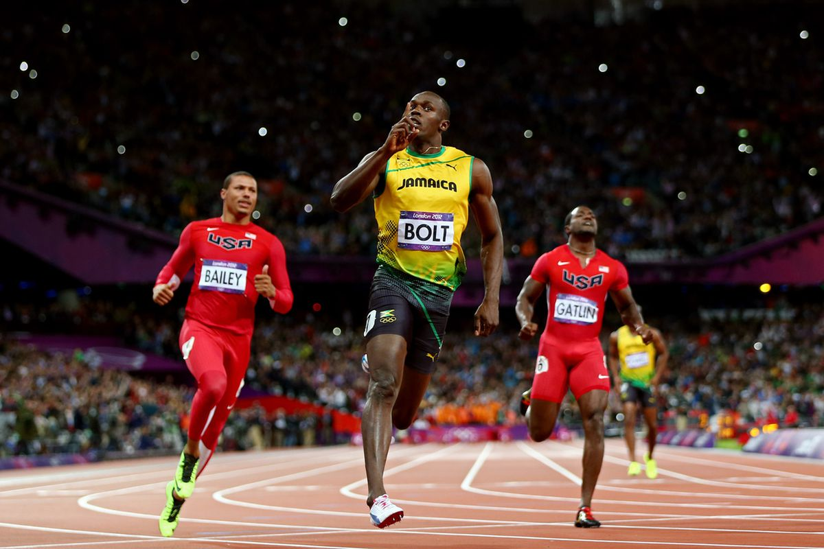 Usain Bolt Wins 100m Gold In Olympic Record 9.63 Seconds ...