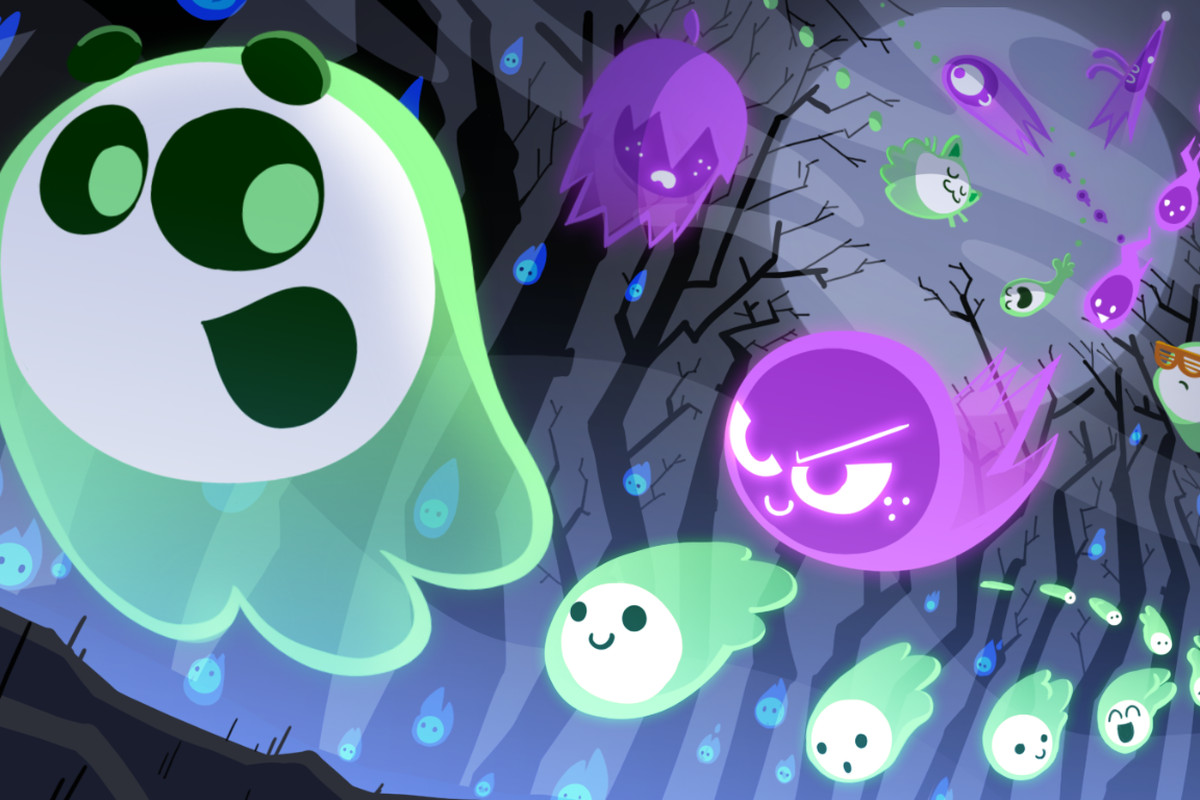 google's 2018 halloween doodle is also its first multiplayer game