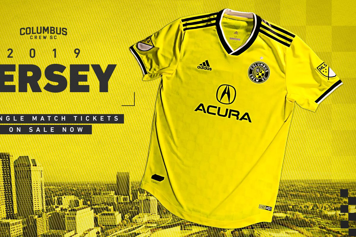 0fb0d0824125 Columbus Crew officially announces 2019 Gold kit - Massive Report