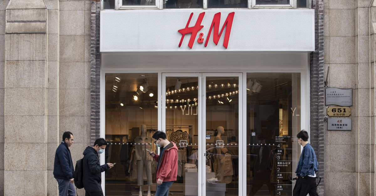 China is boycotting H&M, Nike, and other retailers for speaking out about forced Uyghur labor.