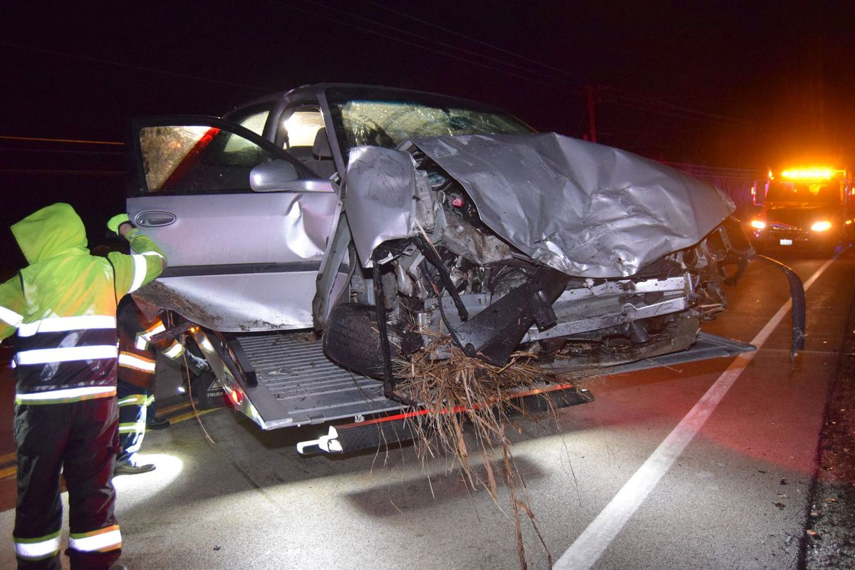 A deputy was hit head-on by a DUI driver Feb. 28, 2020, in an unincorporated area near Antioch.