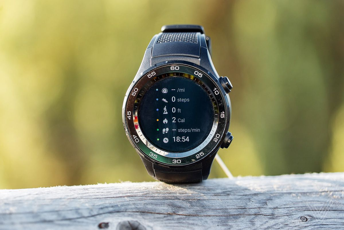 finest selection ab2d2 1c09a Huawei Watch 2 review: a fitness focus that falls flat - The Verge