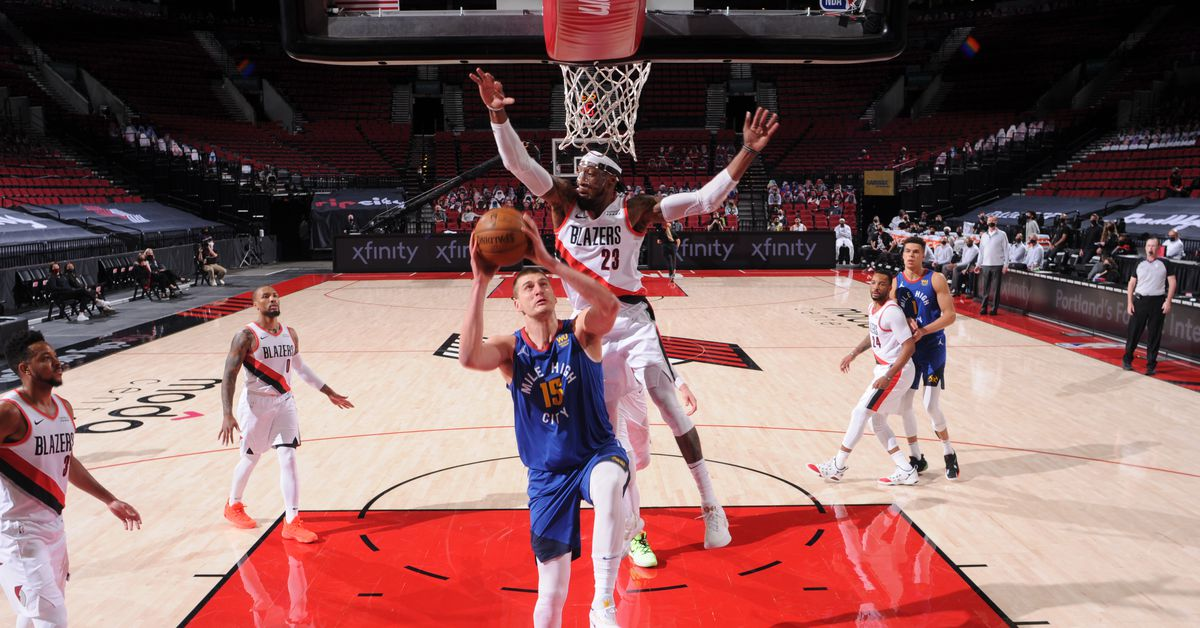 Summary: Nuggets escape Portland with 106-105 victory over Trail Blazers