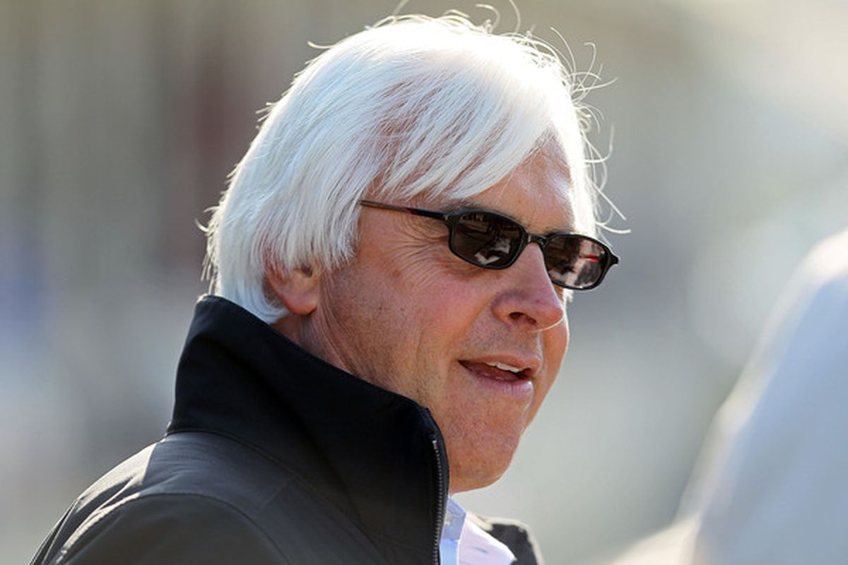 Bob Baffert looks to continue his hot start to the Santa Anita meet with a win in the Sham Stakes on Saturday.  (Photo by Andy Lyons/Getty Images)