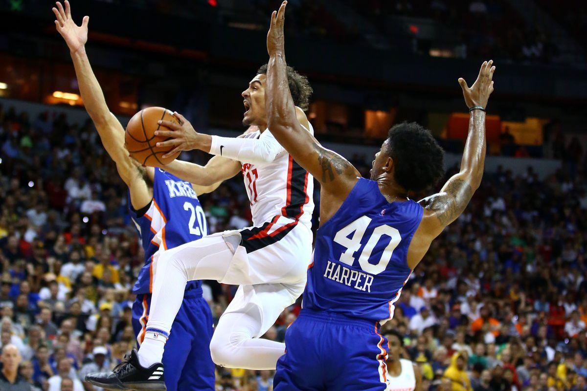 NBA: Summer League-New York Knicks at Atlanta Hawks