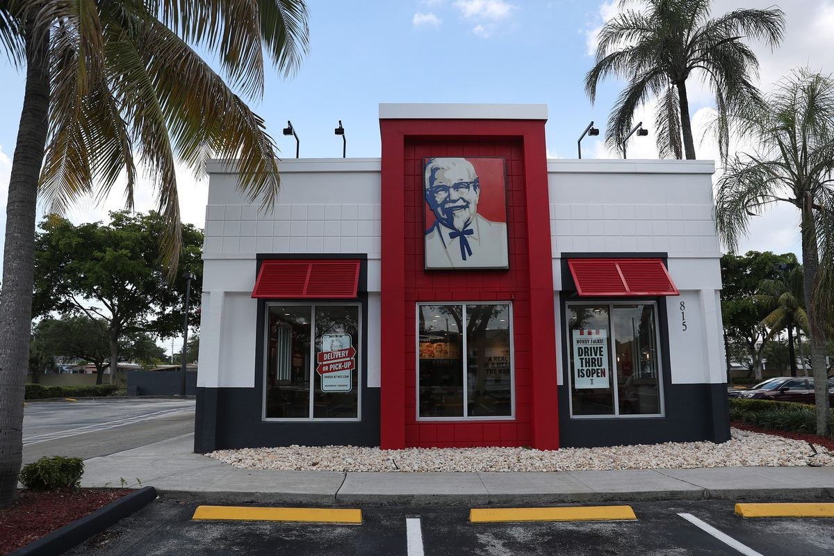 KFC Closes Dining Rooms At Corporate-Owned Franchises In Florida As Coronavirus Cases Surge