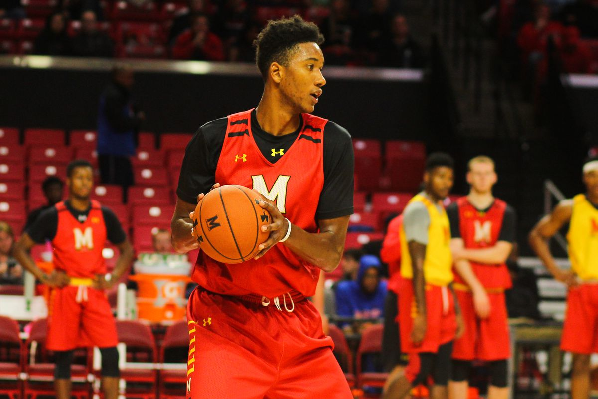 Scenes From Maryland Basketball's Open Practice