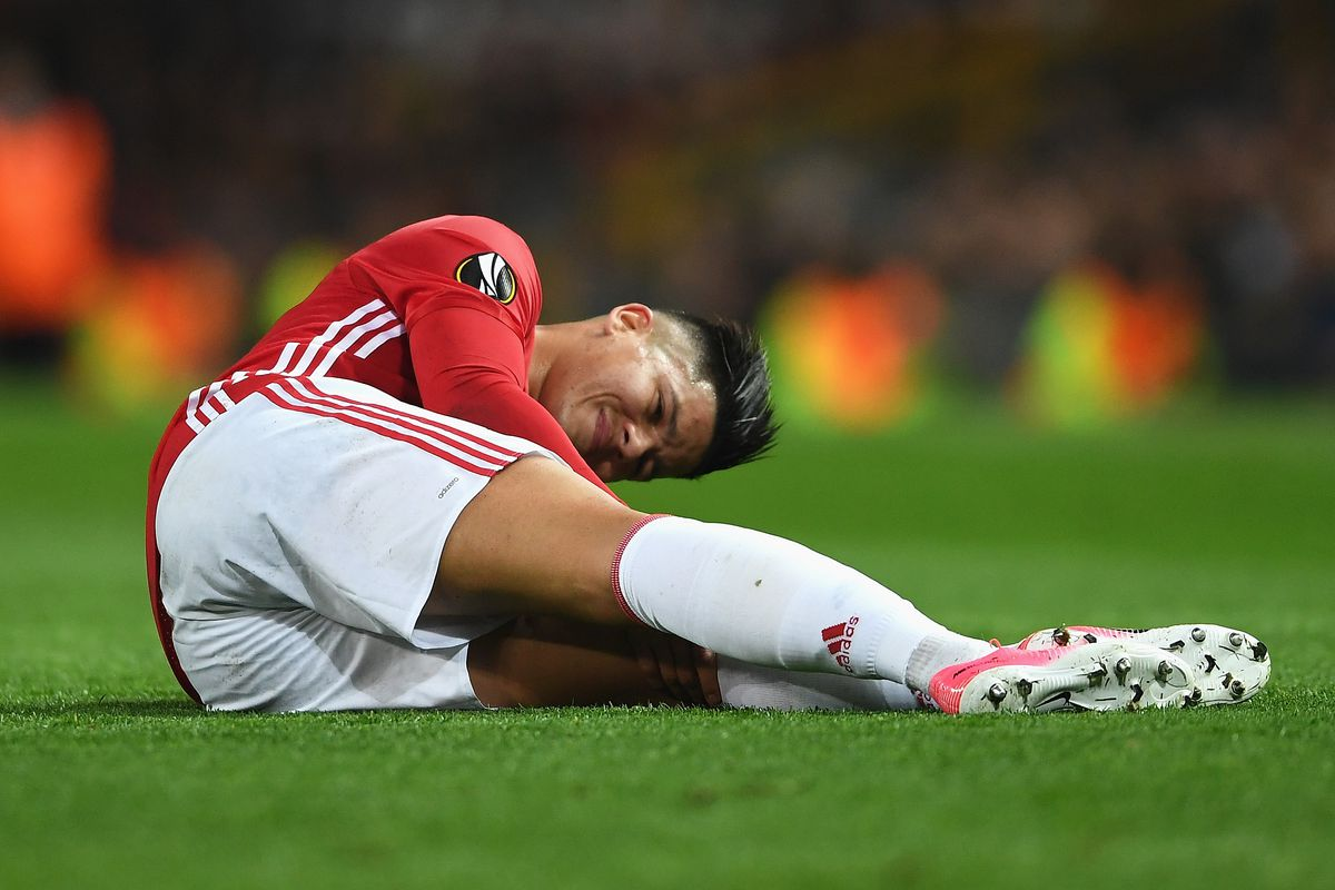 Image result for marcos rojo injury