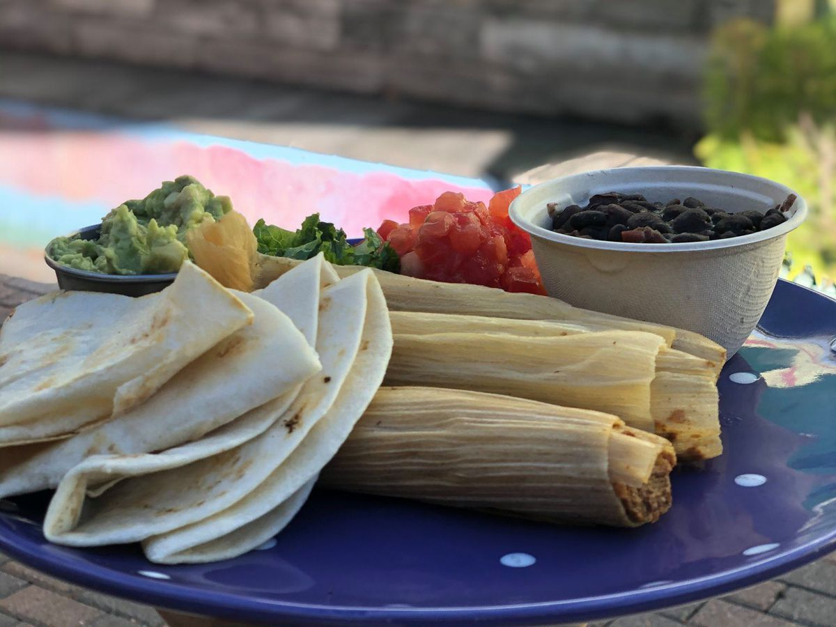 Tamales from Bouldin Creek Cafe
