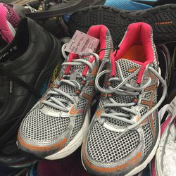 Asics sneakers, size 7.5, $39.95 (from $79.95)