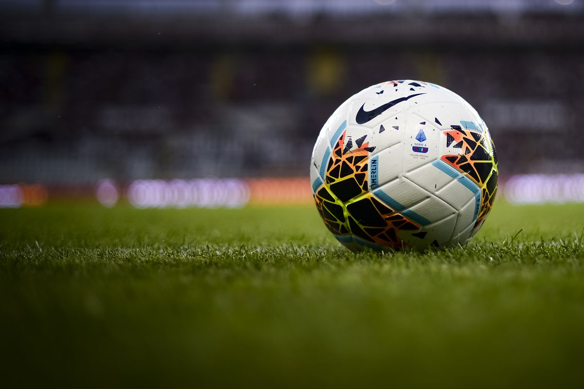 The official Serie A 2019-2020 match ball Nike Merlin is...